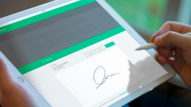 Photo of In which cases is the electronic signature used?