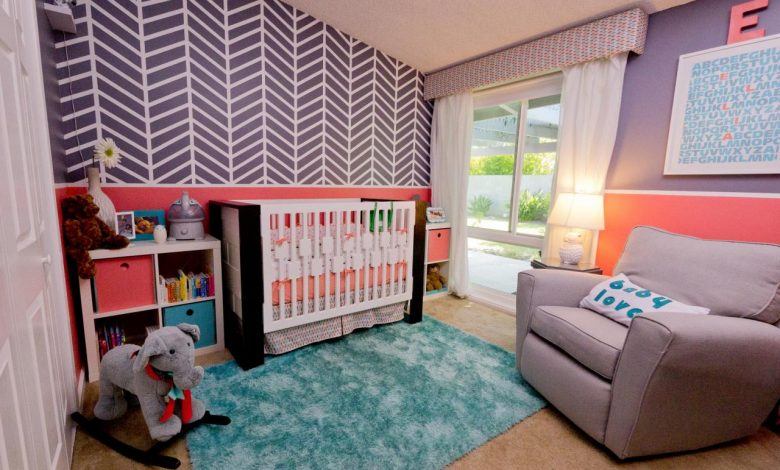 What type of paints ideas should I use for a baby boy's bedroom?